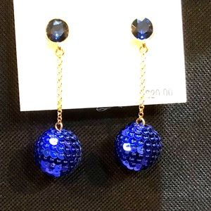 ✅🆕Blue drop earrings